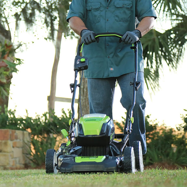 best cordless gas free lawn mower