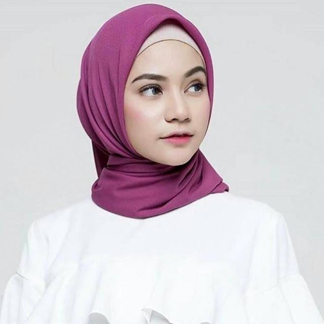 Poton Square Hijab trend terkini