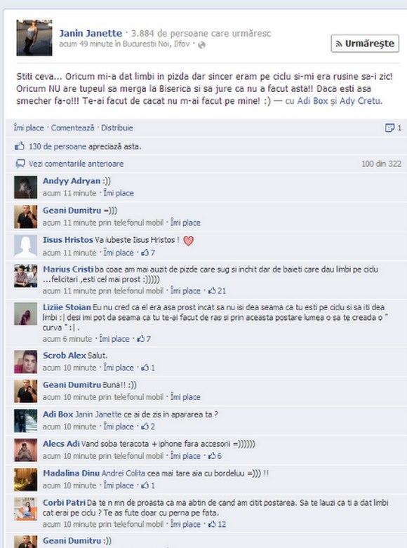 Fata sa se intalneasca pe Facebook
