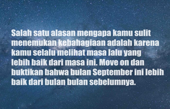 Kata Bulan September baru