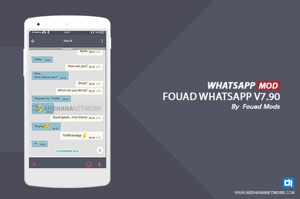 Fouad Whatsapp V7.90 By Fouad Mods