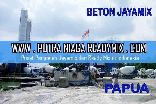Harga Beton Jayamix Papua