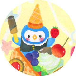 ペンギン,アイス,イラスト