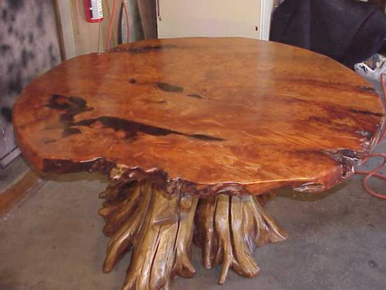 Fresh Decor Exotic Natural Tree Root Table Design