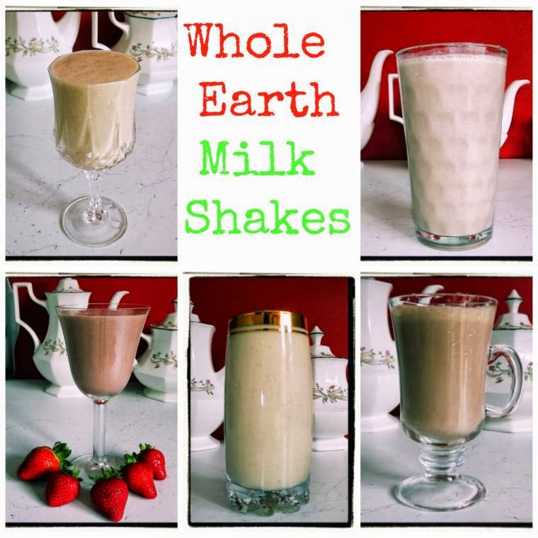 Whole Earth Milkshakes: Peanut Butter Shakes