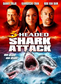 El Tiburón De 3 Cabezas (2015) DVDRip Latino