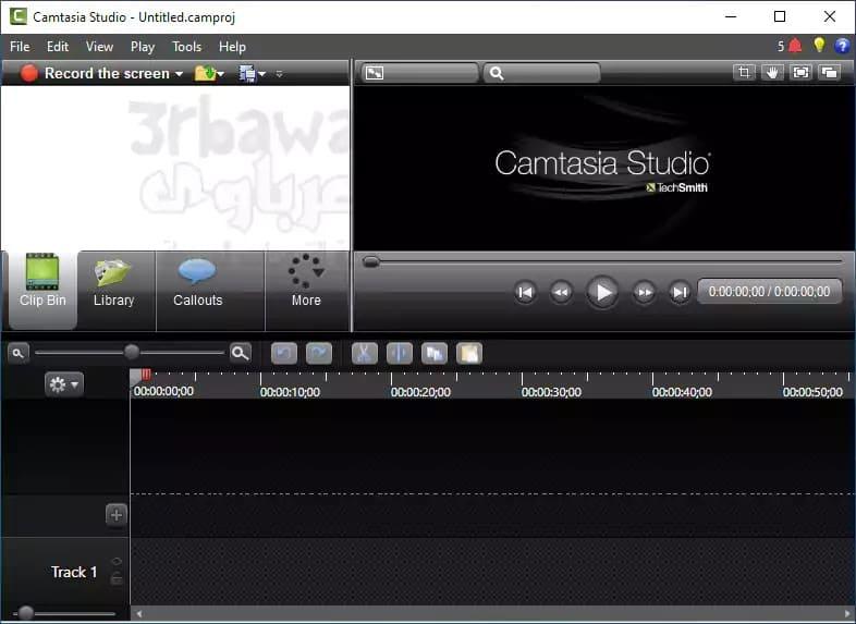 تحميل برنامج كامتازيا camtasia 32bit احدث اصدار مجانا