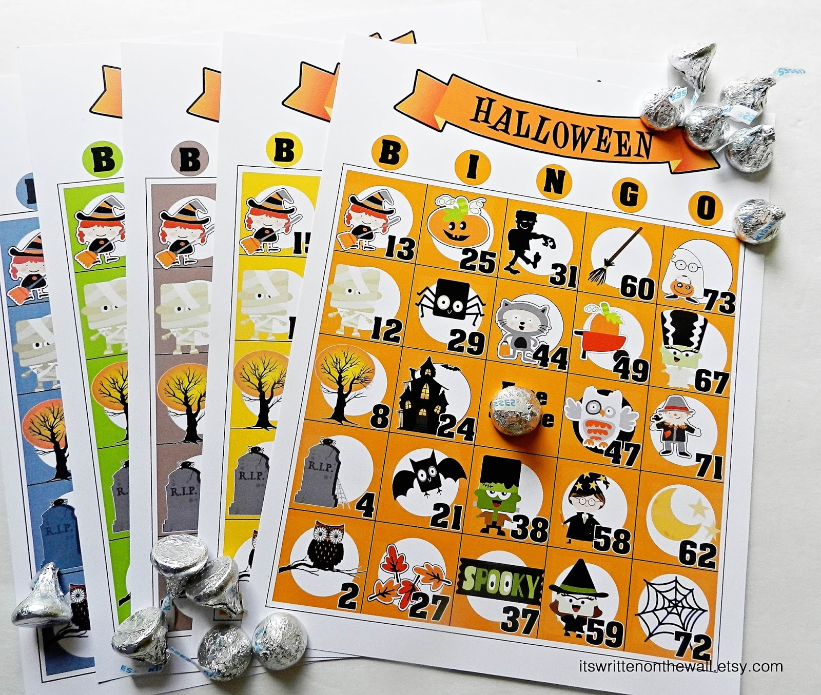 It's Written on the Wall: Brand New Halloween Bingo Games ...