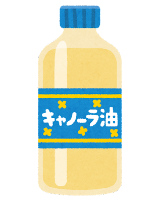 キャノーラ油のイラスト