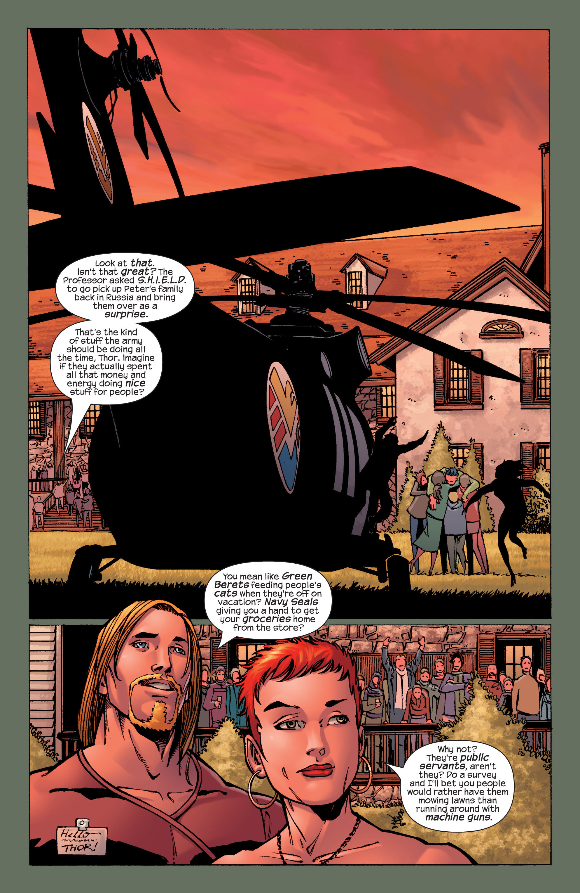 Read online Ultimate X-Men comic -  Issue #32 - 19