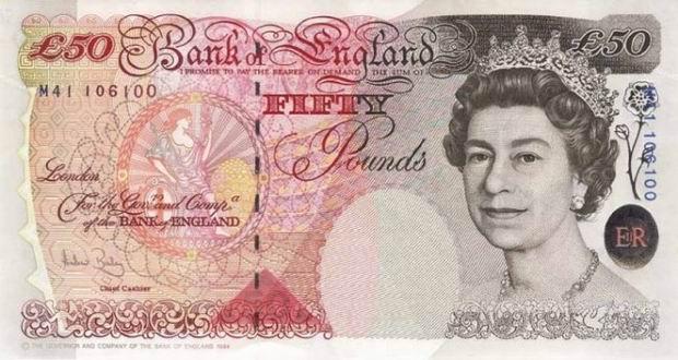 picătură de lire sterline