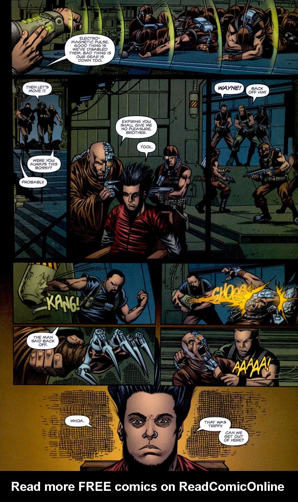 Read online Static-X: Machine comic -  Issue # Full - 17