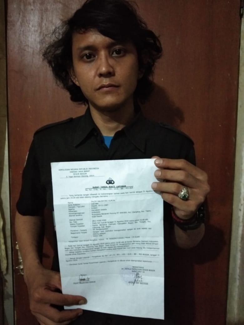 Pukul Wartawan Hingga Hidung Patah, Anggota Polisi dan Calo di Laporkan