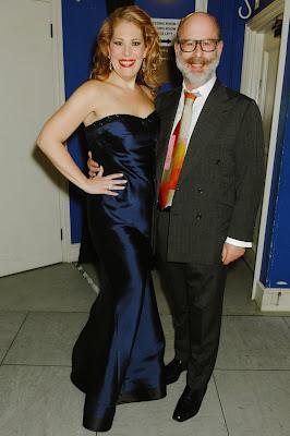 Sondra Radvanovsky and Ian Rosenblatt after Sondra Radvanovsky's Rosenblatt Recital at Cadogan Hall