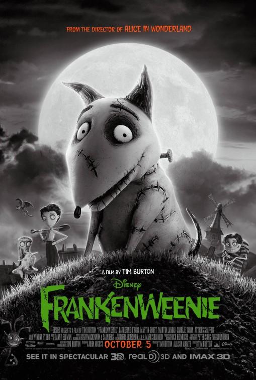 Xem Phim Chó Ma Frankenstein 2012