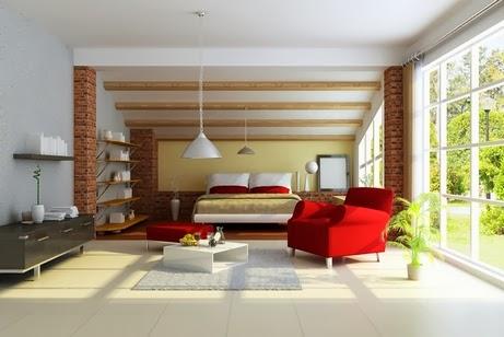 потолочные конструкции балок для интерьера спальни