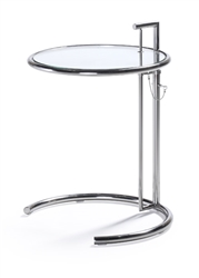 Woodstock Marketing Glass Reception Table