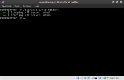 etc/init.d/ntp restart