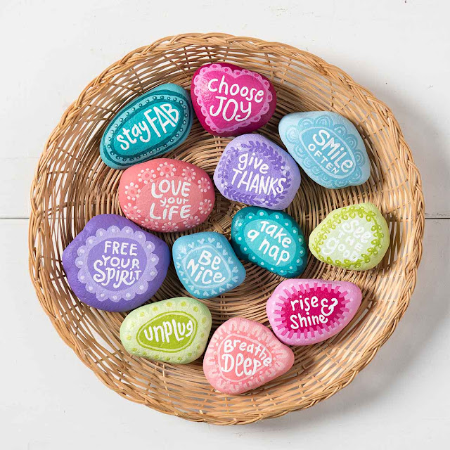 rock painting ideas for kindness rocks