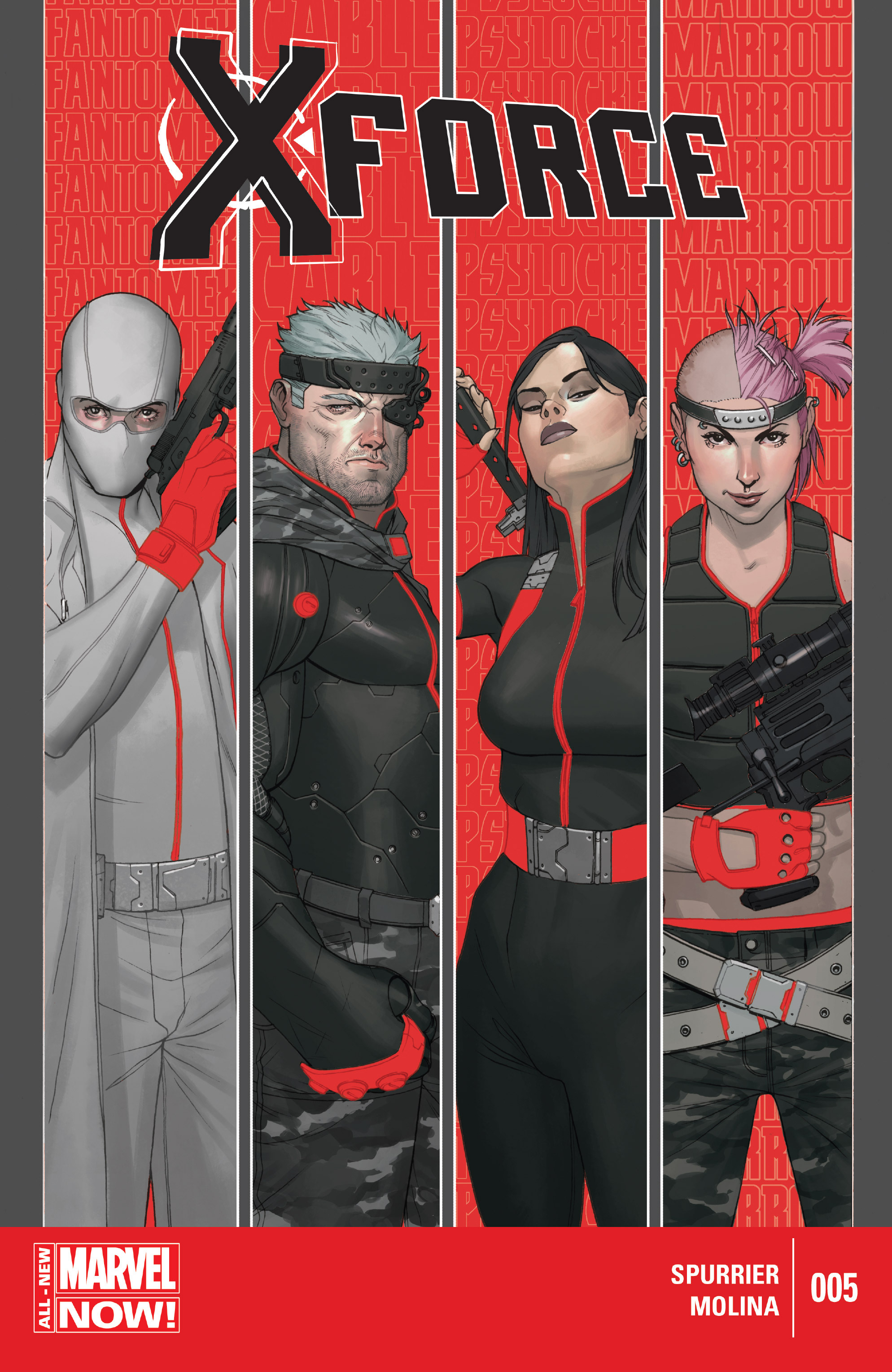 Read online X-Force (2014) comic -  Issue #5 - 1