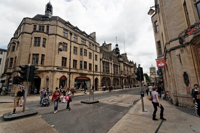 Compras em Oxford