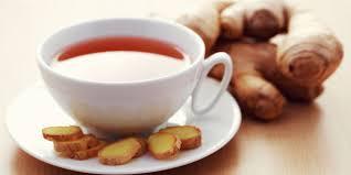 Minum teh jahe bisa menjadi salah satu  Teh  jahe ! obat herbal batuk berdahak