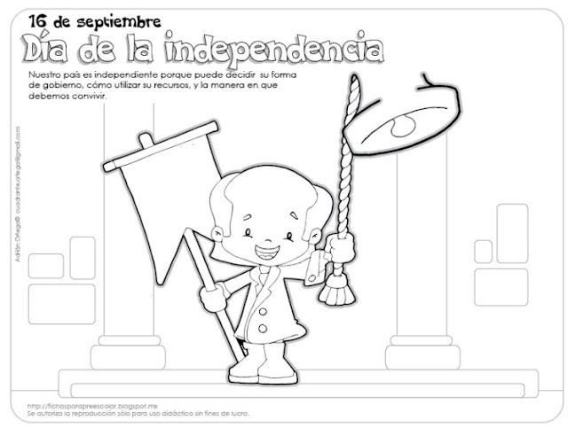 16-de-septiembre-dia-de-la-independencia-mexico-para-colorear-ninos