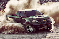 Chevrolet Colorado ZR2 Extended Cab (2017 North American Spec) Front Side