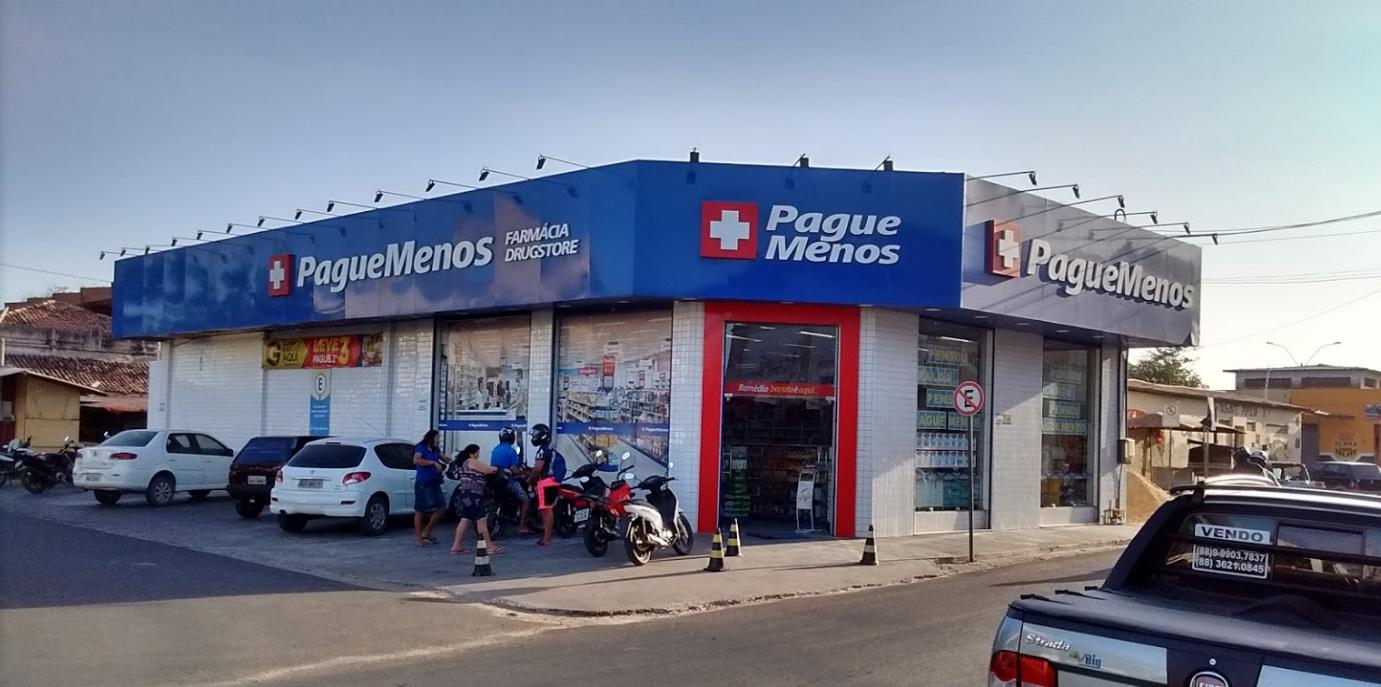 6f885bc4315e3 A Pague Menos, maior de rede de drogarias do Brasil, comemora 37 anos de  existência com liderança absoluta no mercado nacional. Com isso, as  afiliadas de ...