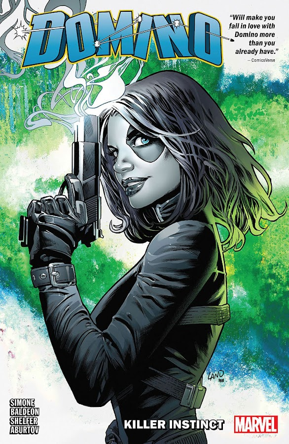 domino Killer Instinct marvel comics