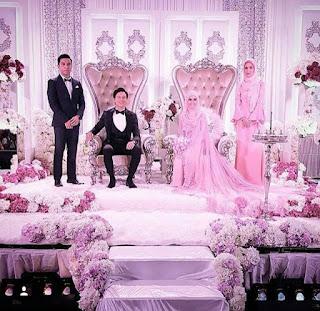 gambar kahwin nazim othman dan bella dally