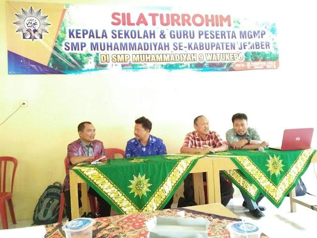FOSKAM SMP Muhammadiyah Se-Jember Siapkan UKK Bersama