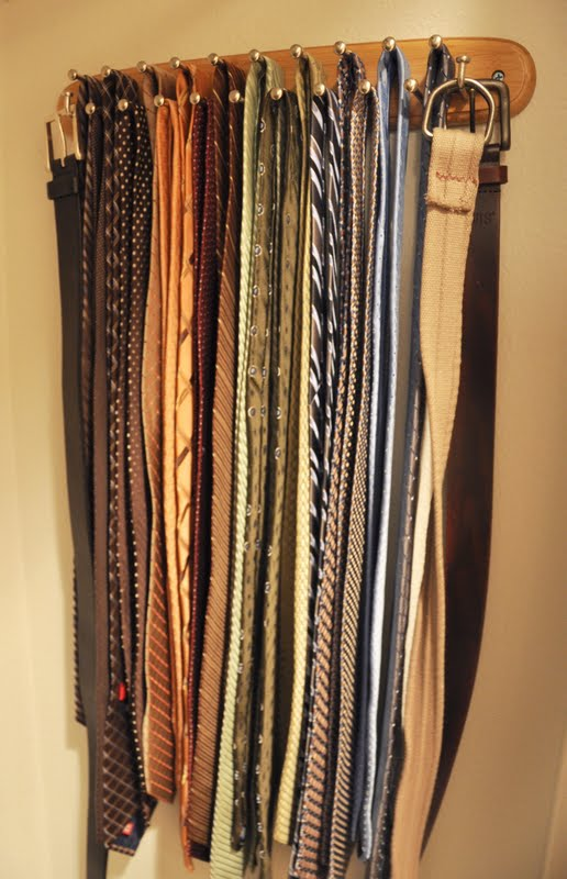 Everyday Lovely Baby Steps To Sanity A Tie Rack