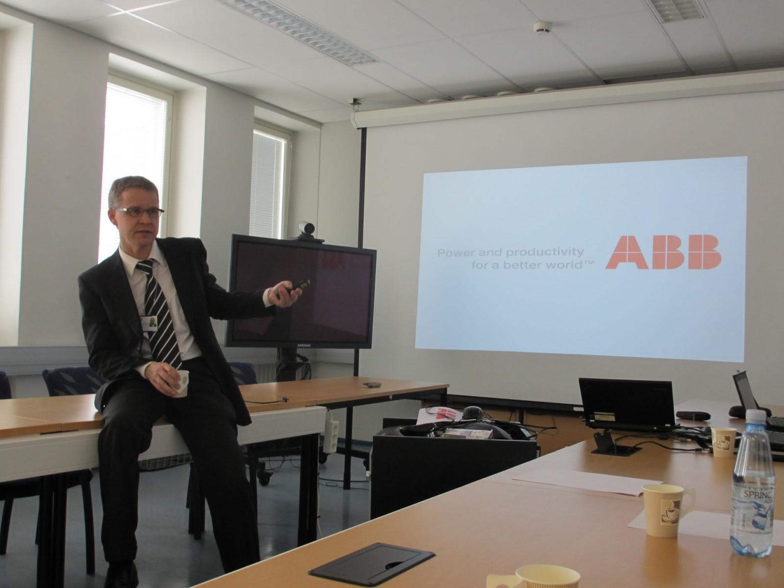 Stratos 2013: ABB company day & seminar