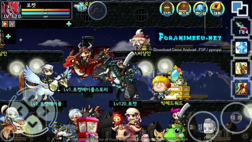 foranimeku - pocket maple story android