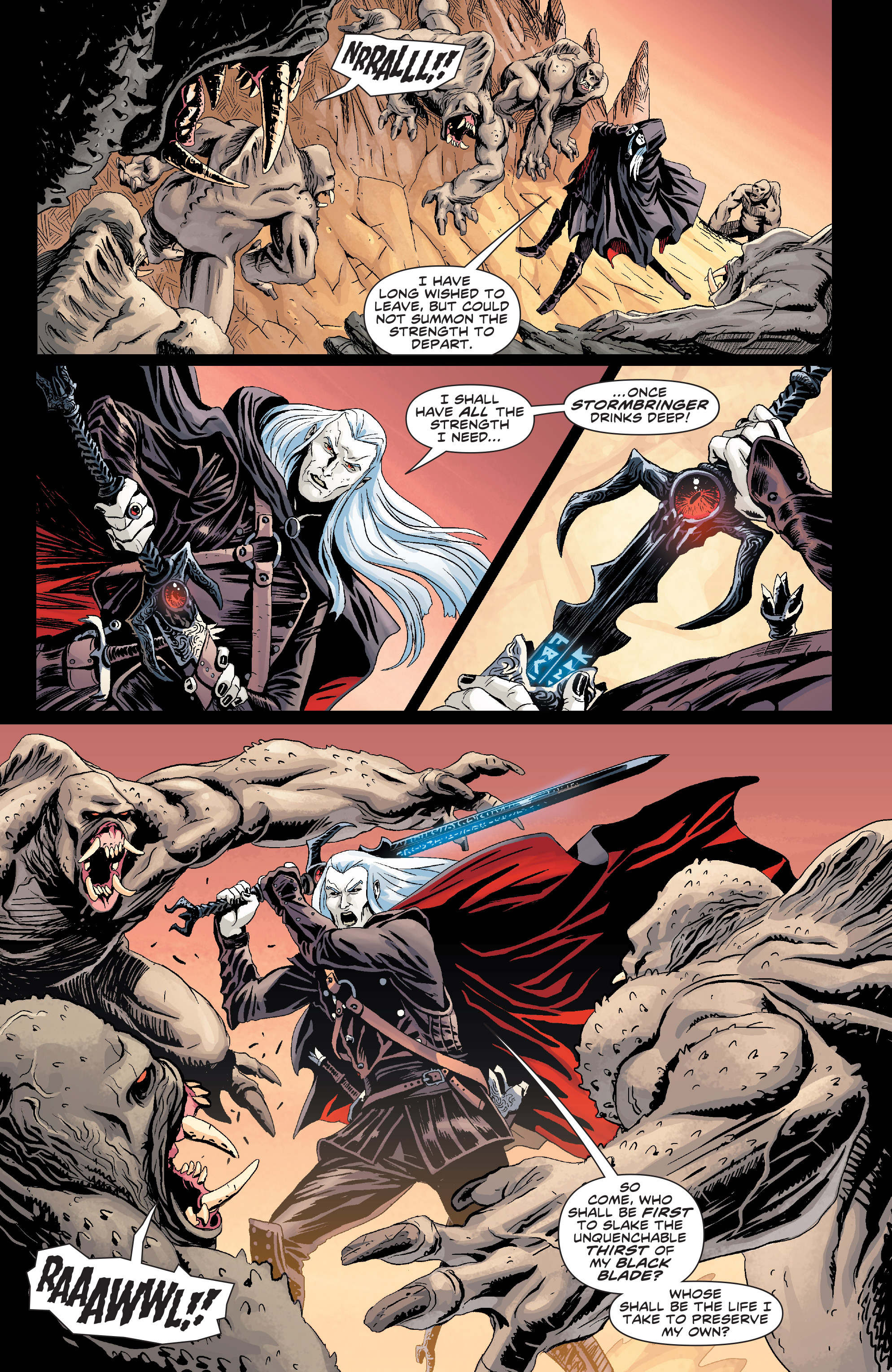 Read online Elric: The Balance Lost comic -  Issue # TPB 1 - 7