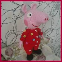 Peppa pig en pijama