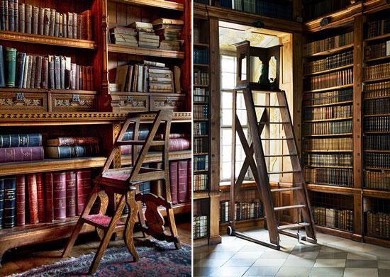 Blog de mbar Muebles Libreras con escalera el sueo de cualquier