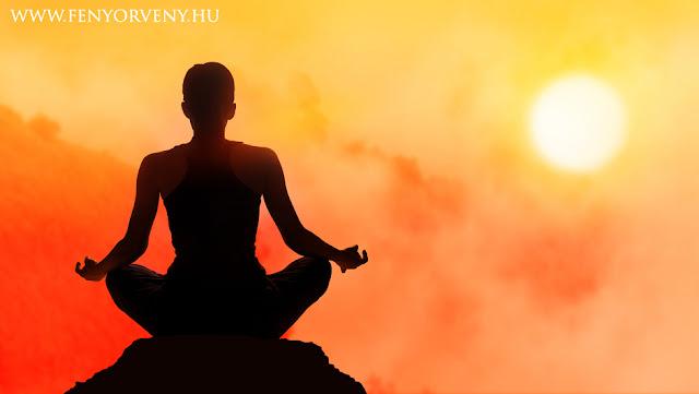 Meditációs mantrák ismétlése