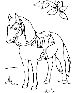 Printable Horse Coloring Pages Ideas