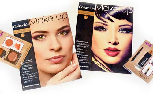 Review : Colección Make up de Planeta de Agostini :  Fasciculos 16 y 17