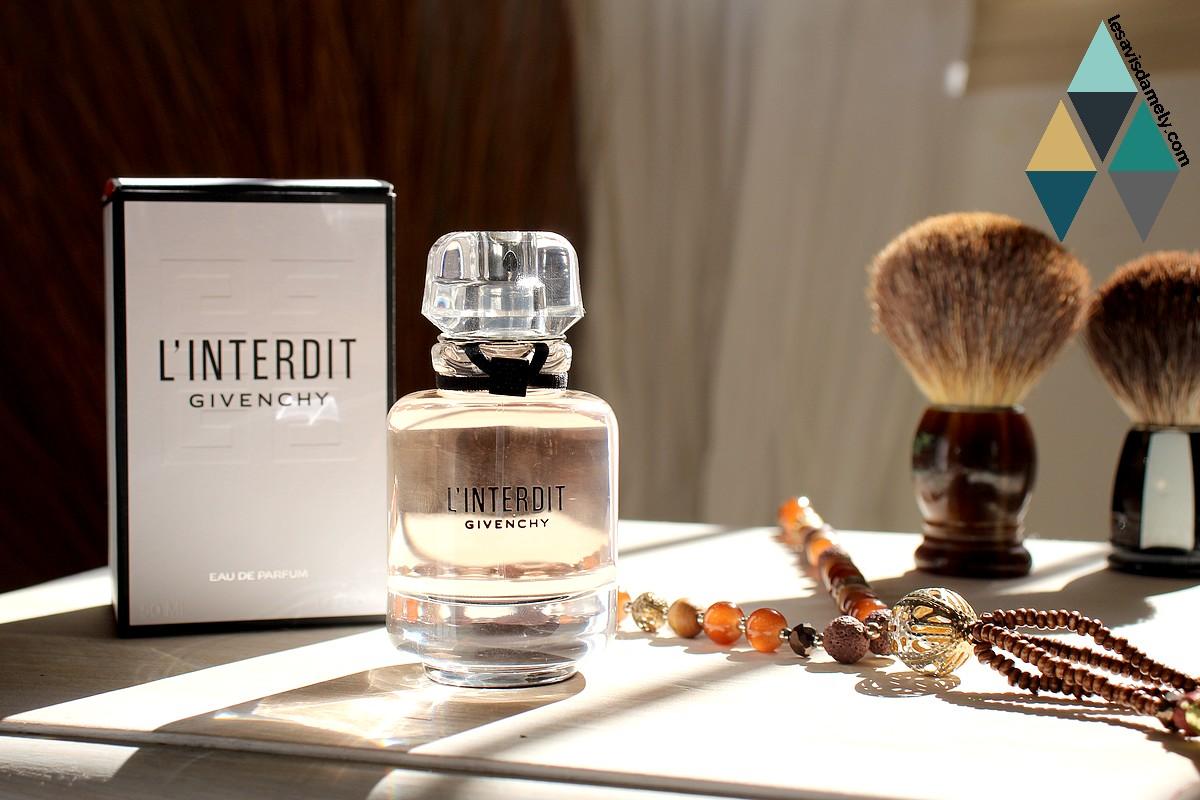 test et avis parfum chic l'interdit Givenchy