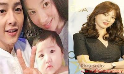 Song Hye-Kyo Daughter