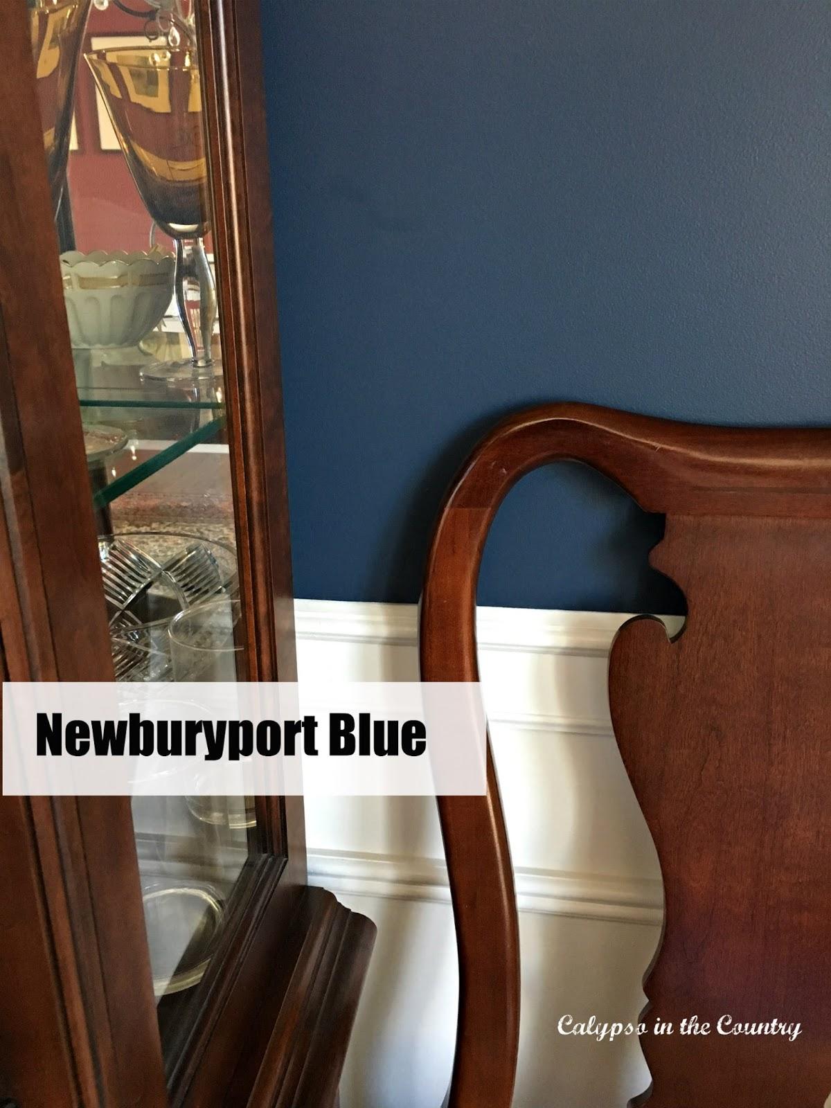 Newburyport Blue Benjamin Moore
