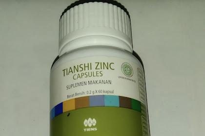 Cara Minum Tianshi Zinc Capsule Peninggi Badan