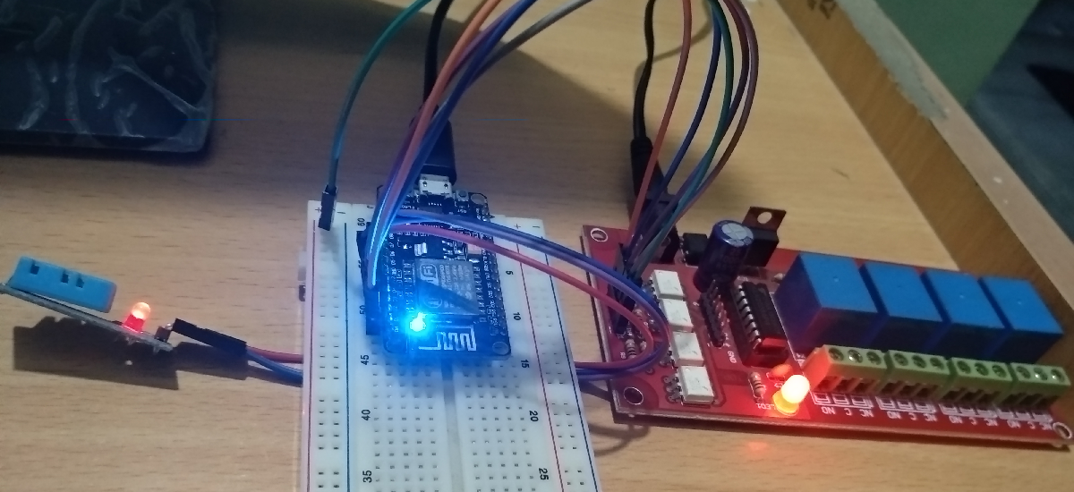 Control Devices Using Android Phone and NodeMCU over