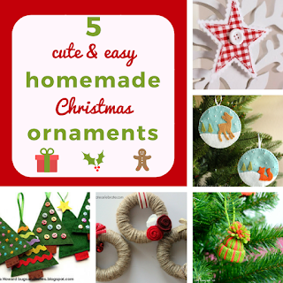 http://keepingitrreal.blogspot.com.es/2016/12/5-cute-easy-homemade-christmas-ornaments.html