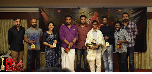 Cinema Paradiso Club Awards 2017 - CPC Awards 2017 - Vinayakan Best Actor - Rajisha Vijayan Dileesh Pothan Indrance