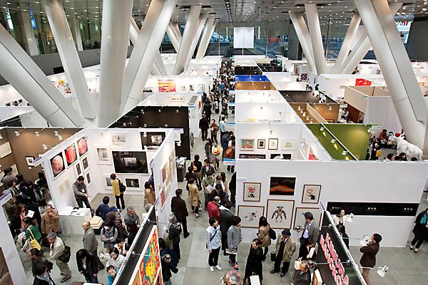 ART FAIR TOKYO 2018 at Tokyo Forum