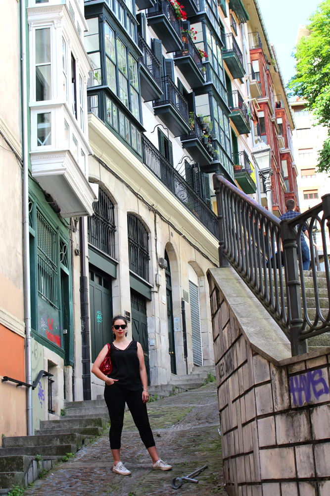 Fashion blogger in Bilbao, Spain - London travel blog